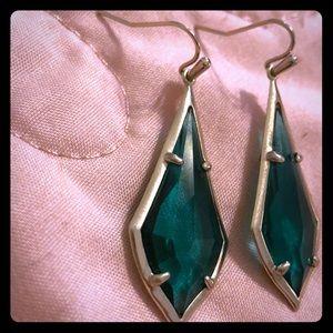Kendra Scott Jewelry - Kendra Scott Emerald Colored Earrings